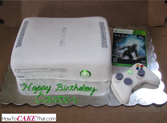 Xbox One Cake Designs : Xbox Console Power Button That Really Lights Up! - How To ...