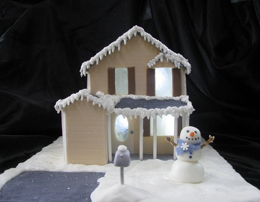 Christmas House Cake Decoration : Blog Archives - How To CAKE That